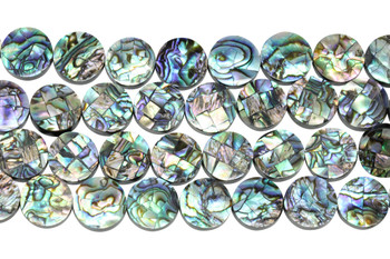 Abalone 16mm Coin
