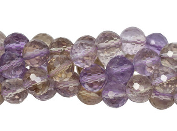 Ametrine Polished 8mm Faceted Round