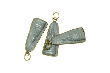 Small Buddha 13x35mm Stone Amulet