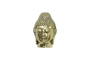 Brass 20x30mm Buddha Head - Large Hole