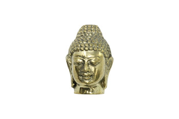 Brass 20x30mm Buddha Head - Large Hole