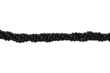 Black Onyx Matte 6mm Round
