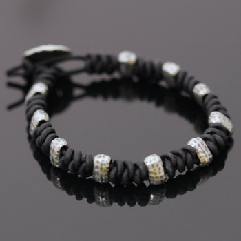 Men's Spanish Knot Bracelet Kit: Black