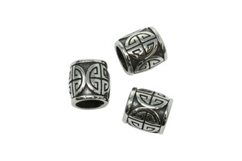 Stainless Steel 12x13mm Bead - Large Hole
