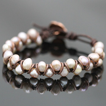 Dancing Pearl Bracelet Kit - Blush