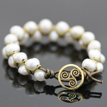 Golden Dancing Pearl Bracelet Kit