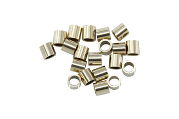 14K Gold Filled 2x2mm Crimps - 20 Pieces