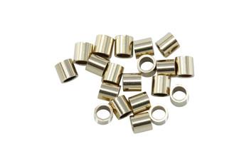 14K Gold Filled 2x2mm Crimps - 20 Pieces