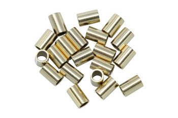 14K Gold Filled 2x3mm Crimps - 20 Pieces