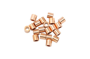 Copper 2x2mm Crimps - 20 Pieces