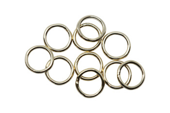 14K Gold Filled 5mm Round 22 Gauge CLOSED Jump Rings - 10 Pieces
