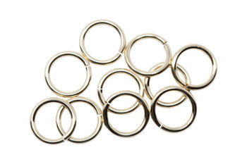 14K Gold Filled 7mm Round 19 Gauge OPEN Jump Rings - 10 Pieces