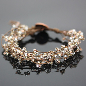 Metallic Tree of Life Bracelet