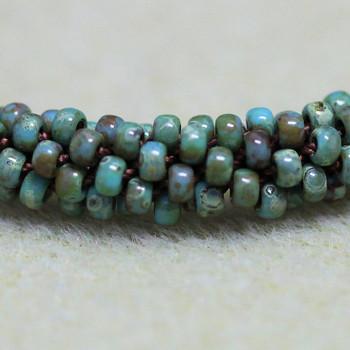 Kumihimo Bracelet Kit - Turquoise