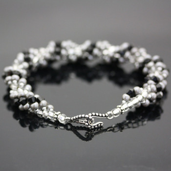 DNA Spiral Bracelet Kit - Black & Gray
