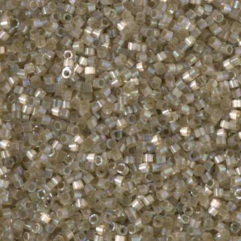 Delicas Size 11 Miyuki Seed Beads -- 1876 Dyed Cactus AB Silk