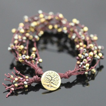 Tree of Life Bracelet Kit - Shiraz Sparkle
