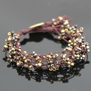 Tree of Life Bracelet Kit - Shiraz Sparkle
