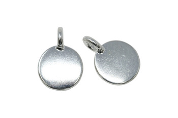 Blank Charm - Silver Plated