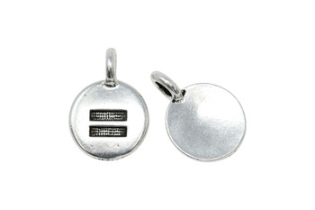 Equality Charm - Silver Plated
