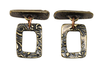 Jardin Toggle Bar and Eye - Antique Brass