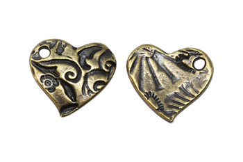 Amor Charm - Antique Brass