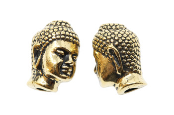 Large Hole Buddha  - Gold Plated