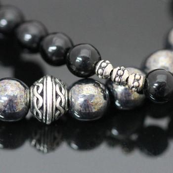 Stretch Bracelets Kit - Black & Hematite