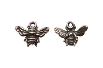 Honeybee Charm - Copper Plated