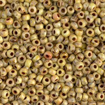 Size 8 Miyuki Seed Beads -- 4512 Picasso Bamboo