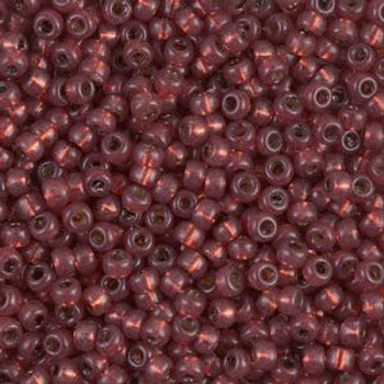 Size 8 Miyuki Seed Beads -- D4245 Duracoat Copper Silver Lined