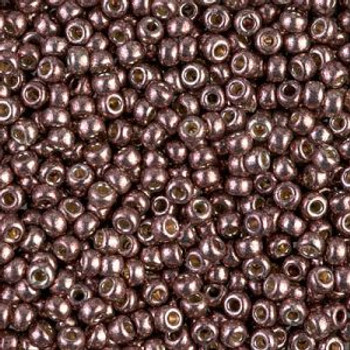 Size 8 Miyuki Seed Beads -- D4213 Duracoat Galvanized Milk Chocolate