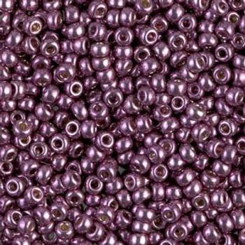 Size 8 Miyuki Seed Beads -- D4220 Duracoat Galvanized Eggplant