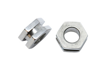 Stainless Steel 8x4.5mm Hex - Large Hole