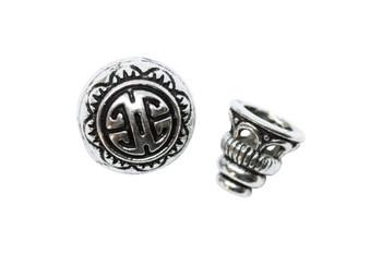 Guru Bead - Antique Silver