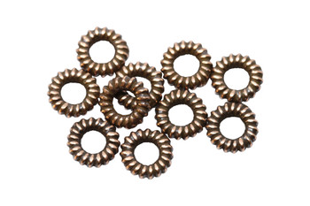 Coil Spacers Copper Plated - 10 Pieces