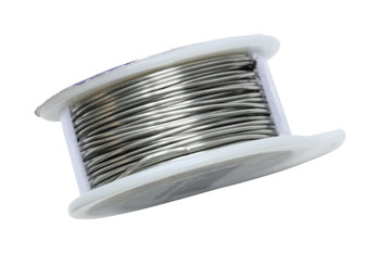 20 Gauge Craft Wire 6 Yards - Brushed Silver