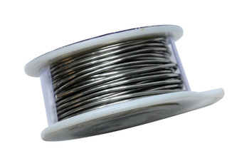 18 Gauge Craft Wire 4 Yards - Brushed Silver