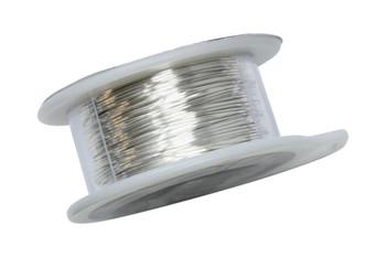 24 Gauge Craft Wire 10 Yards - Silver