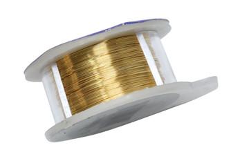 28 Gauge Craft Wire 15 Yards - Gold