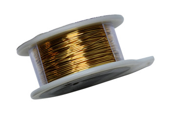 24 Gauge Craft Wire 10 Yards - Gold