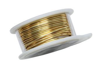 18 Gauge Craft Wire 4 Yards - Gold