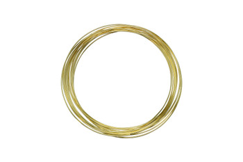Bracelet Size Memory Wire - Gold Plated