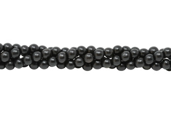Black Ebony Wood 8mm Round