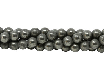 Pyrite Polished 6mm Round