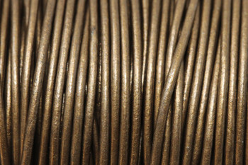 Kansas 1.5mm Leather Cord - Sold by the Foot