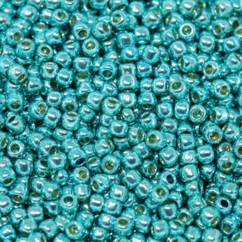 Size 11 Toho Seed Beads -- P492 Galvanized Turquoise