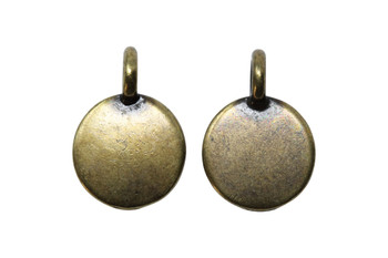 Blank Charm - Brass Plated