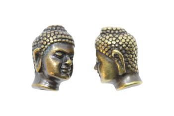 Large Hole Buddha  - Brass Plated