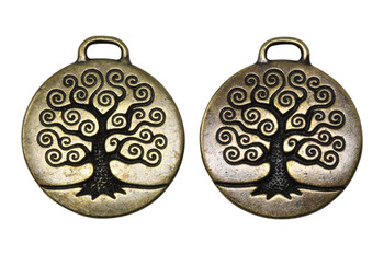 Large Tree of Life - Brass Plated